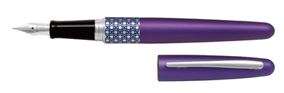 Pilot MR Fountain Pen Elipse Violet - Medium Tip - Skribr - 1