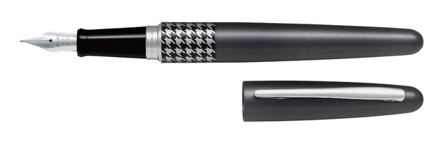 Pilot MR Fountain Pen Houndstooth Black - Medium Tip - Skribr - 1