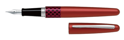Pilot MR Fountain Pen Wave Red - Medium Tip - Skribr - 1