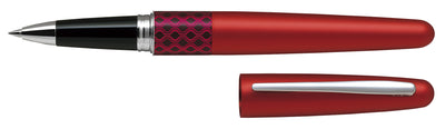 Pilot MR Rollerball Gel Ink Pen Houndstooth Wave Red - Medium Tip - Skribr