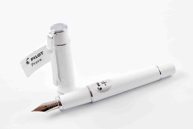 Pilot Prera Fountain Pen – White with Fine Nib | Prera