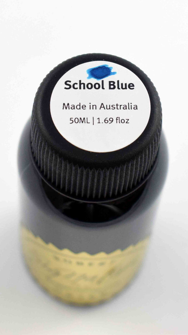 Robert Oster Signature Ink Range - School Blue - Skribr - 2