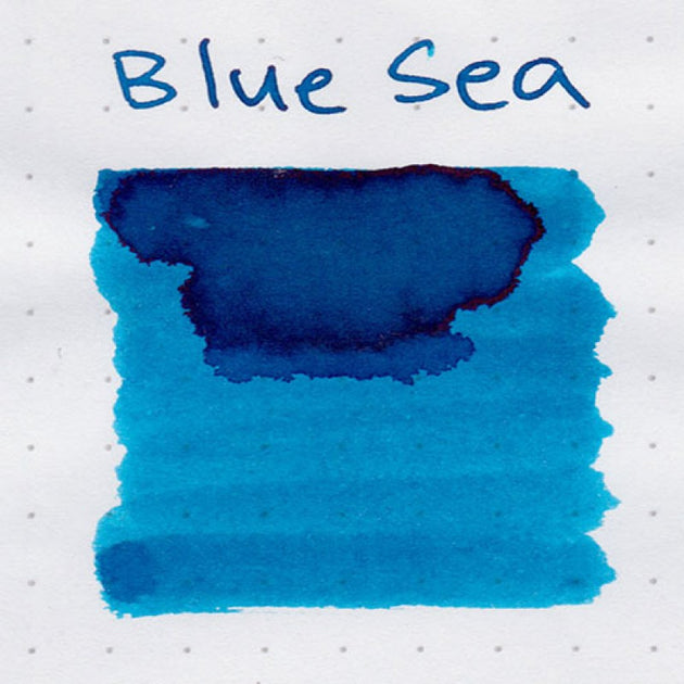 Robert Oster Signature Ink Range - Blue Sea - Skribr - 2