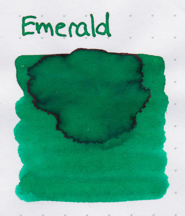 Robert Oster Signature Ink Range - Emerald - Skribr - 3