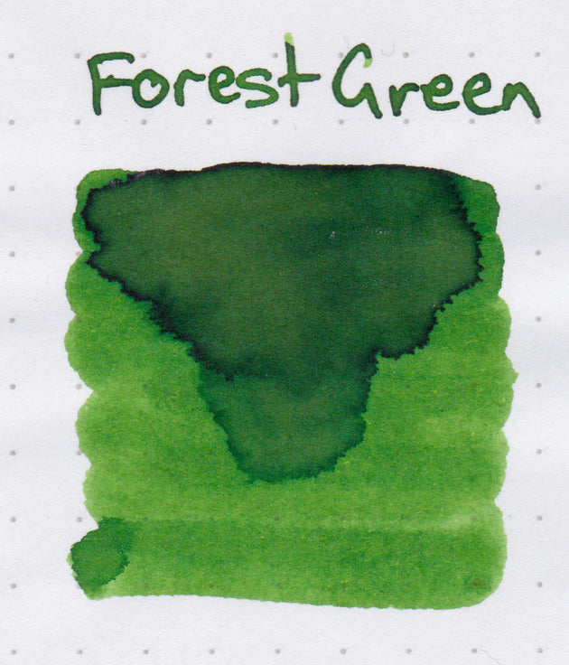 Robert Oster Signature Ink Range - Forest Green - Skribr - 3