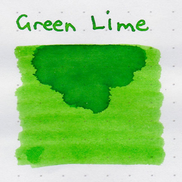 Robert Oster Signature Ink Range - Green Lime - Skribr - 3
