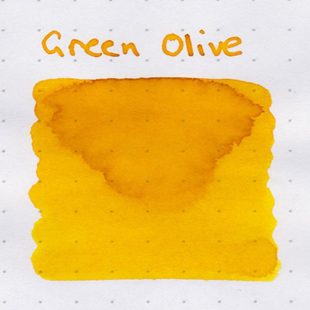 Robert Oster Signature Ink Range - Green Olive - Skribr - 3