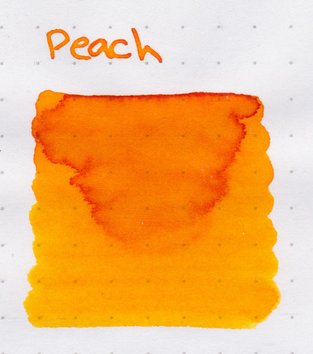 Robert Oster Signature Ink Range - Peach - Skribr - 3