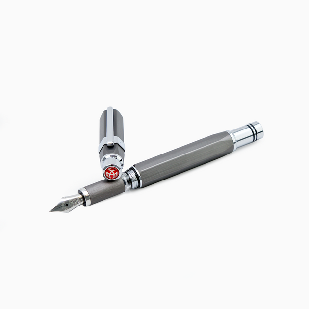 TWSBI Precision Fountain Pen Gunmetal Stub 1.1 | Skribr