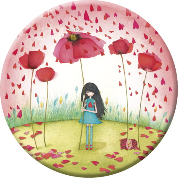 Magnet - Poppy Umbrella - Skribr