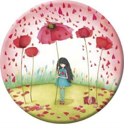 Pocket Mirror - Poppy Umbrella from Correspondances - Skribr - 1
