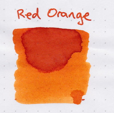Robert Oster Signature Ink Range - Red Orange - Skribr - 3