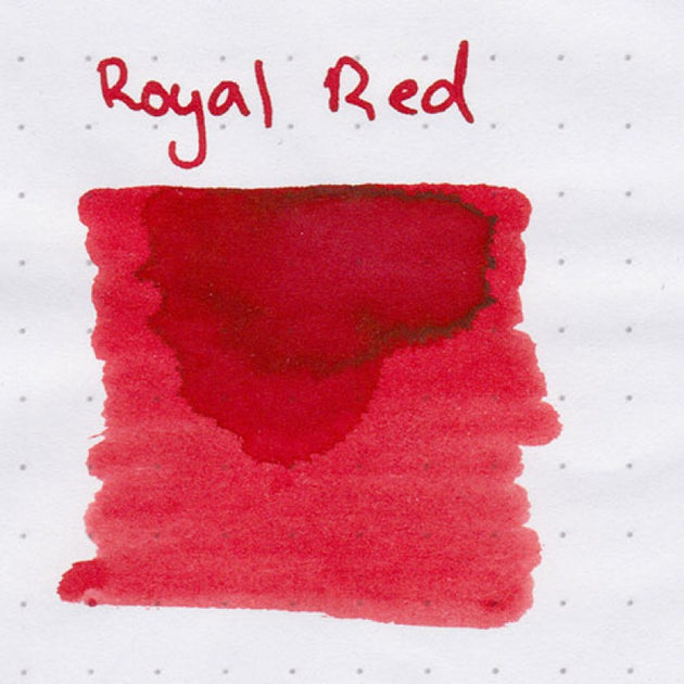 Robert Oster Signature Ink Range - Royal Red - Skribr - 3
