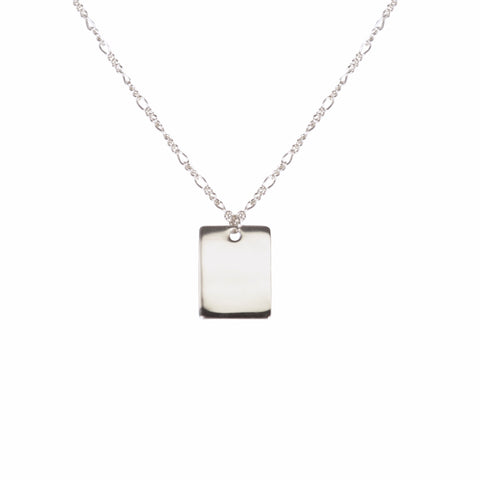Engravable Tag Necklace