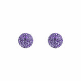 Radiance Studs Grape
