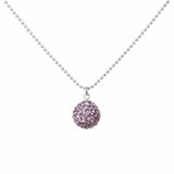Radiance Necklace Dusty Purple