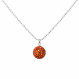 Radiance Necklace Burnt Orange