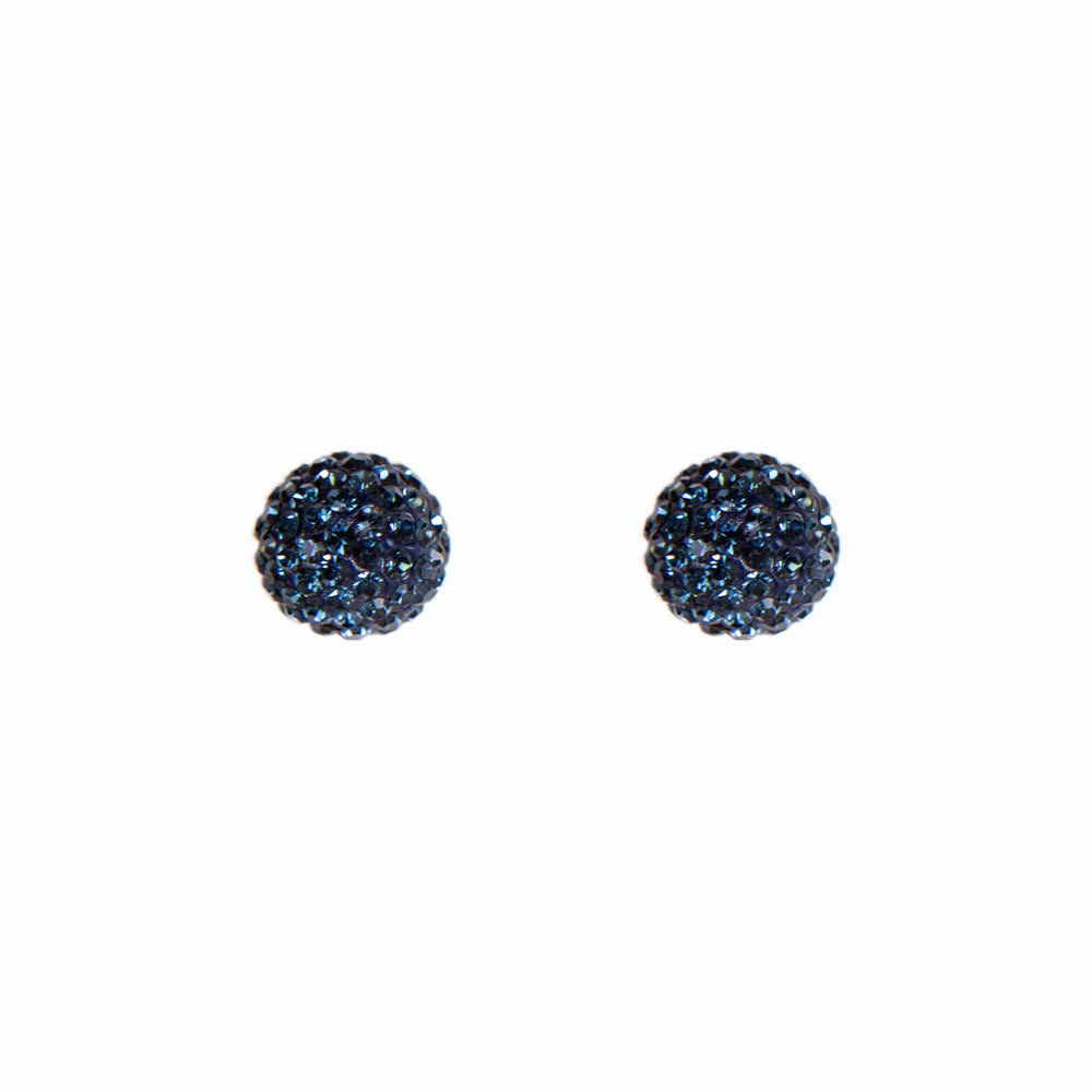 Load image into Gallery viewer, Radiance Studs Navy