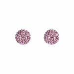 Radiance Studs Dusty Purple