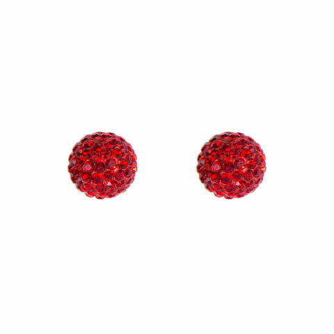 Radiance Studs Red