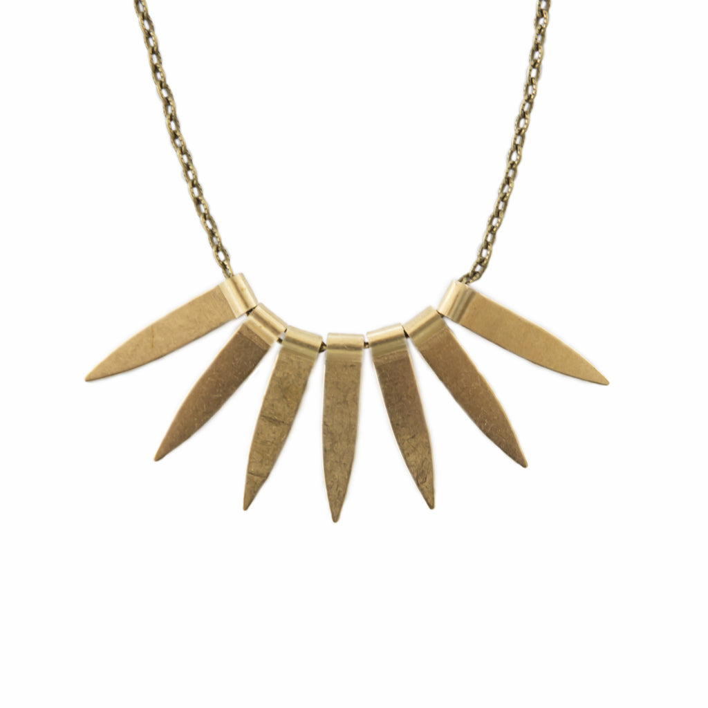 Spike Metal Necklace