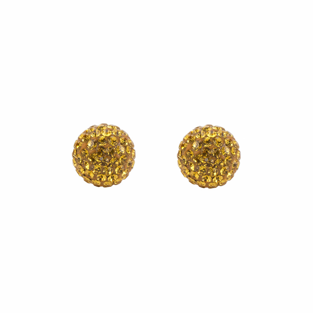 Radiance Studs Harvest Gold