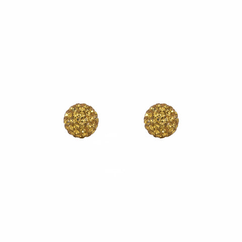 Radiance Studs Harvest Yellow