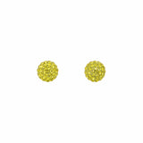 Radiance Studs Yellow