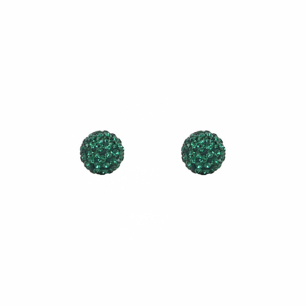 Load image into Gallery viewer, Radiance Studs Emerald