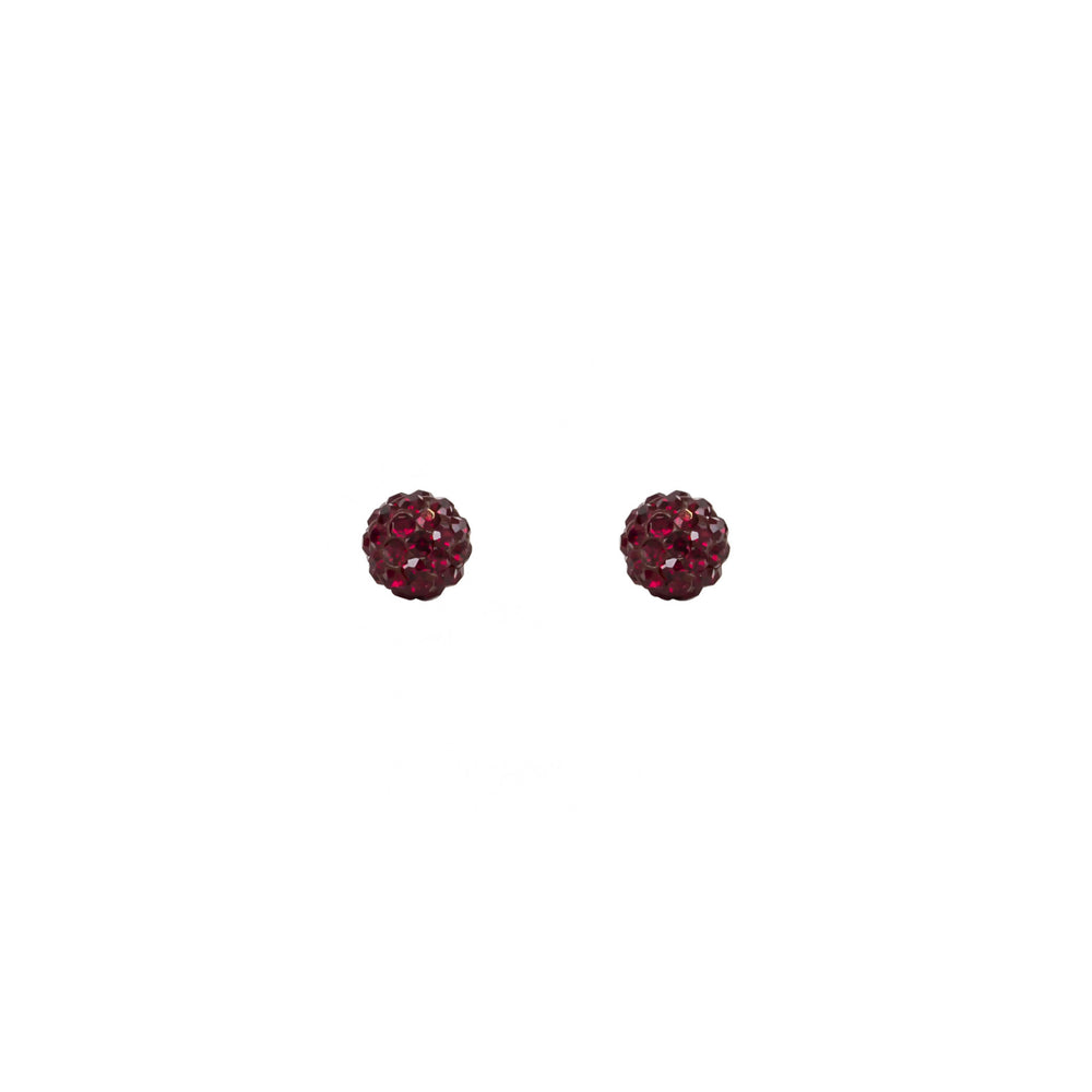 Load image into Gallery viewer, Radiance Studs Garnet
