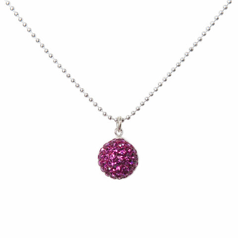 Radiance Necklace Fuchsia
