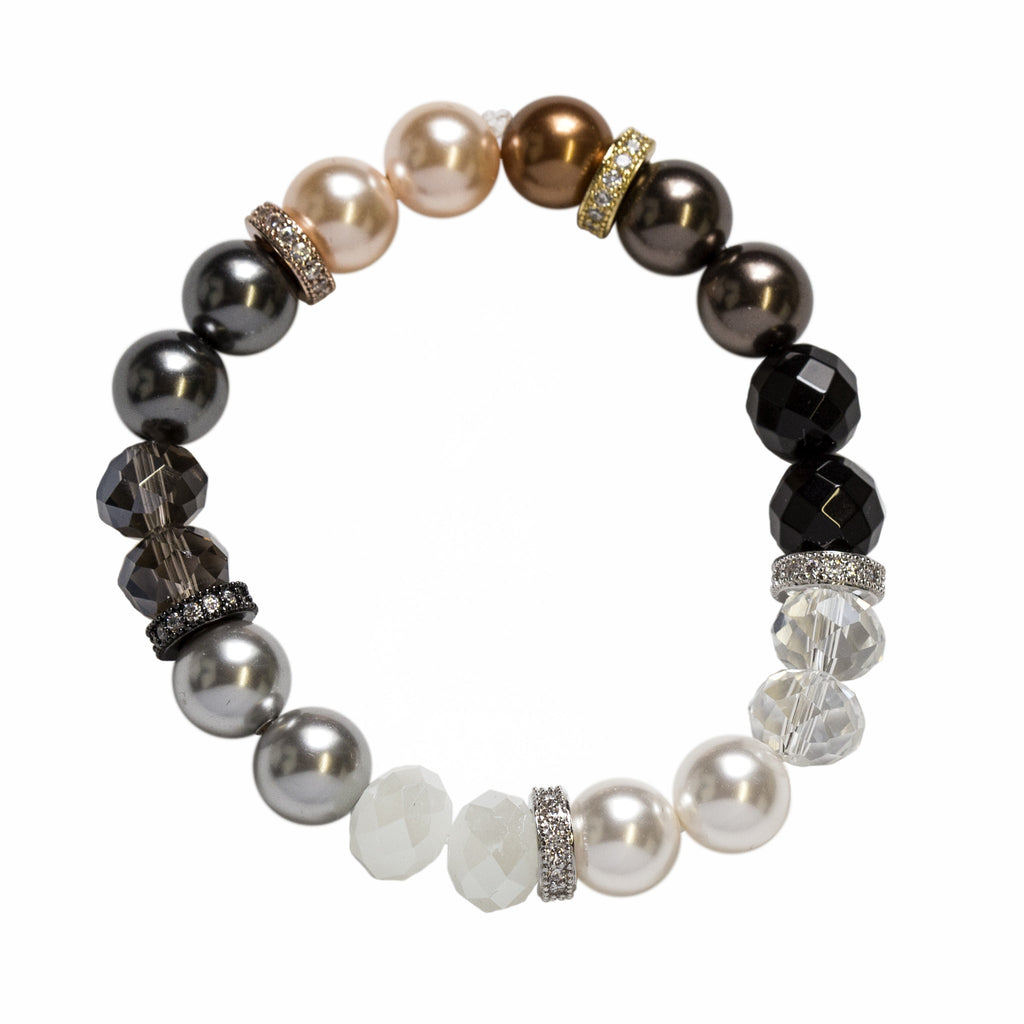Ombre Mixed Metal Bracelet
