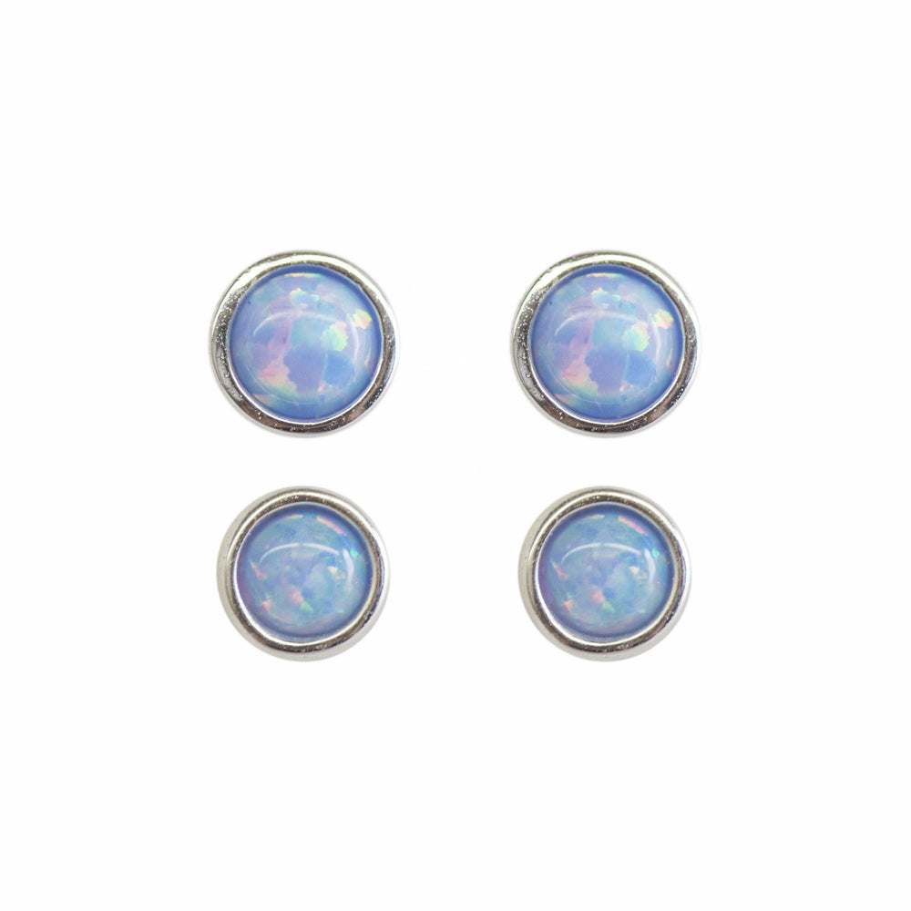 Mermaid Opal Studs