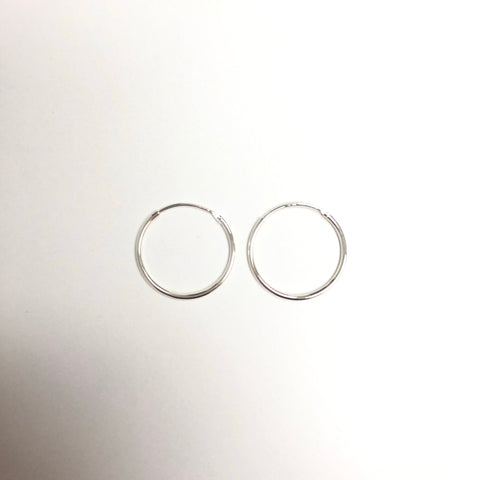 Featherweight Midi Hoops