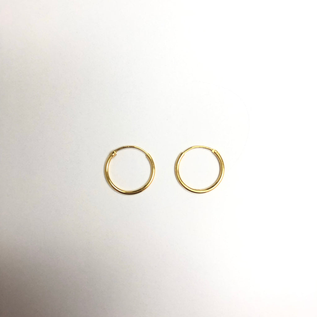 Featherweight Small Hoops