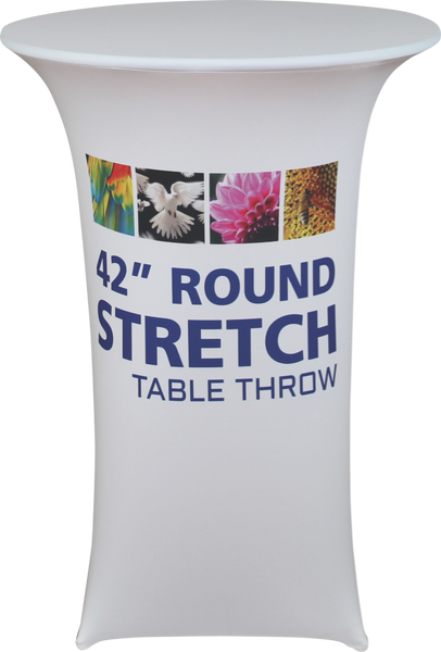 Round Stretch Table Throw