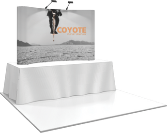 3 x 2 Coyote Popup Graphic Kit (Curved)