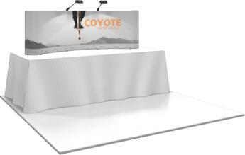 3 x 1 Coyote Popup Graphic Kit (Curved)