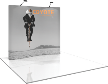 8ft Serpentine Coyote Popup Graphic Kit