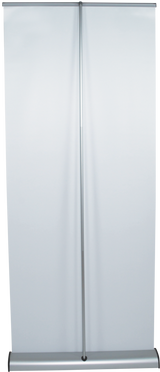 Crecent Retractable Banner Stand