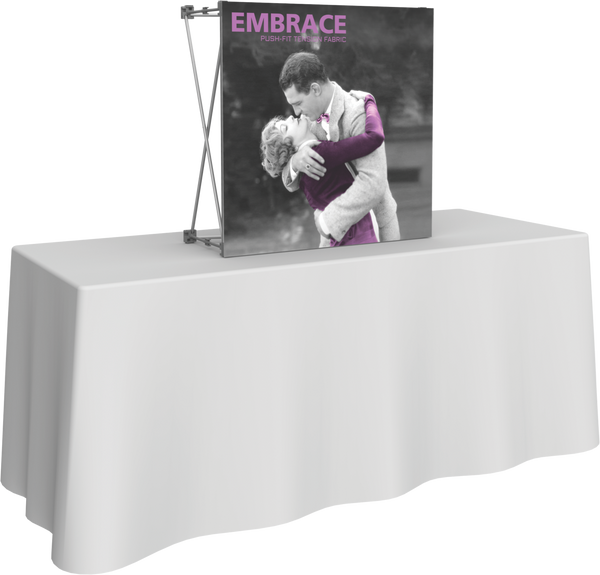 1 x 1 Embrace Fabric Display (Front Only)