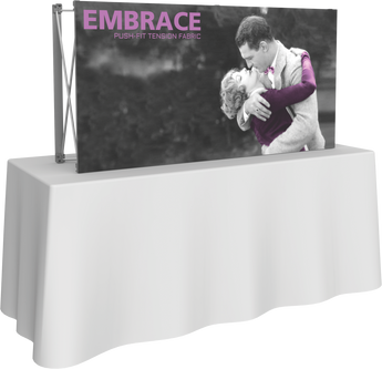 2 x 1 Embrace Fabric Display (Front Only)