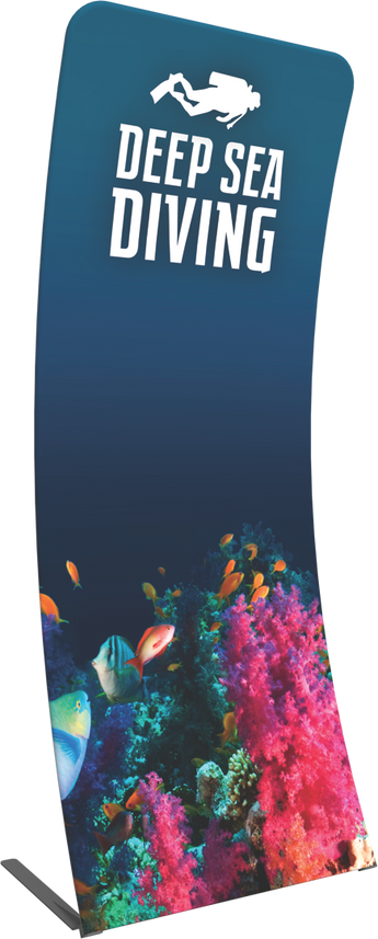 The Formulate Essential Banner  - 3' Curved - Graphic Only