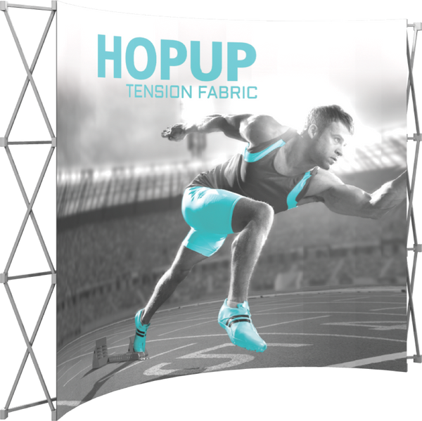 4 x 3 Hopup Front Graphic Only - Curved