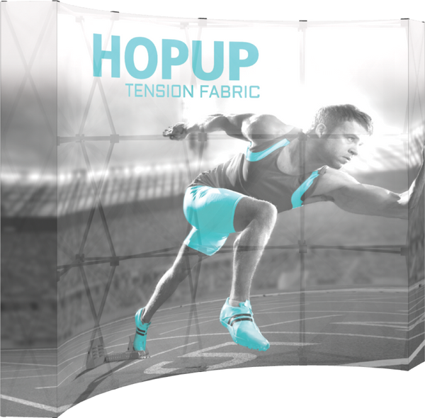 4 x 3 Backlit Hopup Tension Fabric Display (Graphic Only)