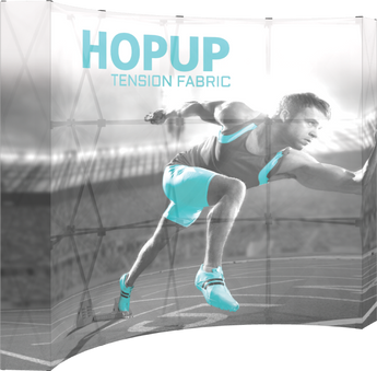4 x 3 Backlit Hopup Tension Fabric Display