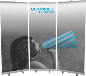 Quickwall Bannerstand Kit