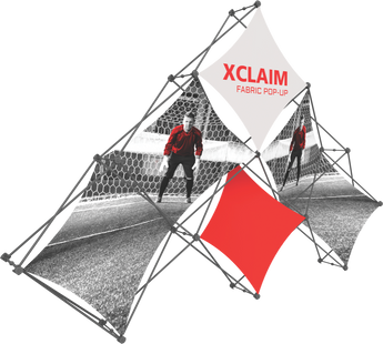 Xclaim 6 Quad Pyramid Popup Graphic Kit 1