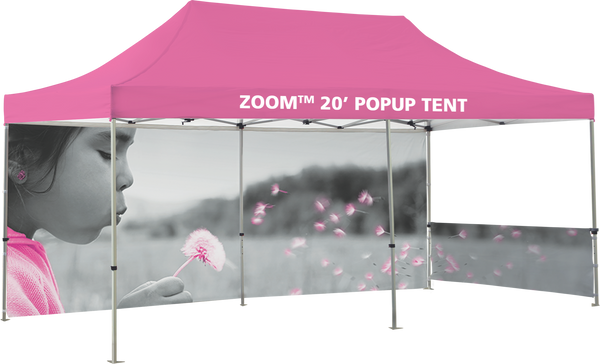Zoom 20' Popup Tent -  Fullwall Only