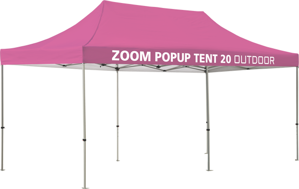 Zoom 20' Popup Tent - Solid Canopy Only